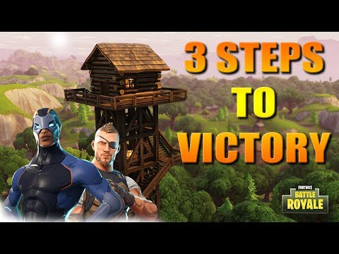 3 Steps To Victory In Fortnite Battle Royale (How To Win For Anyone)