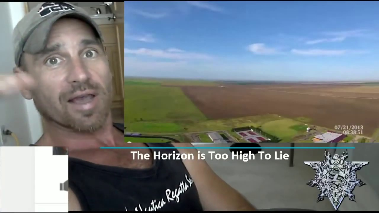 Horizon is TOO HIGH to LIE! - Lord Steven Christ's Concave Earth