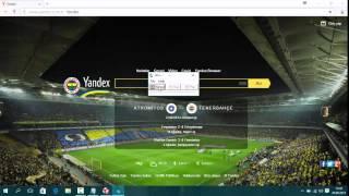 Fenerbahçe Yandex Hilesi !  (Organik Bot)