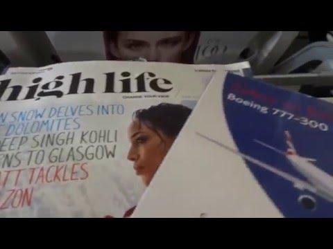 Tokyo to London Flight with British Airways, Economy
