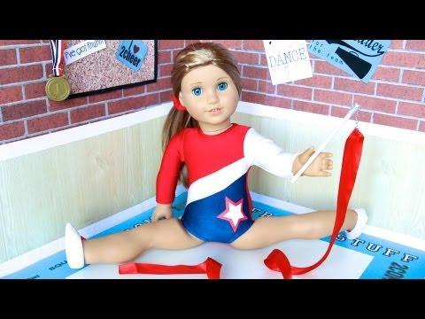 How To Make Doll Rhythmic Gymnastics Equipment
