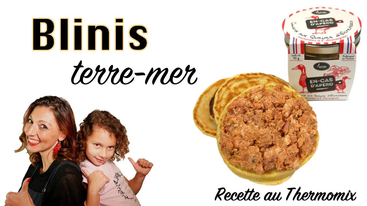 blinis recette au thermomix