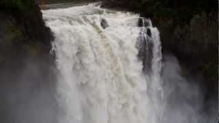 Snoqualmie Falls, WA. Filmed by Frank Scavo, Music by Angelo Badalamenti, Twin Peaks Theme