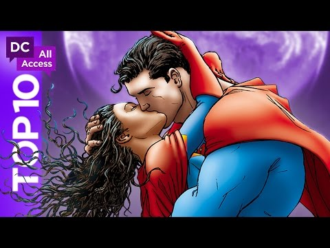 Top 10 DC Love Stories