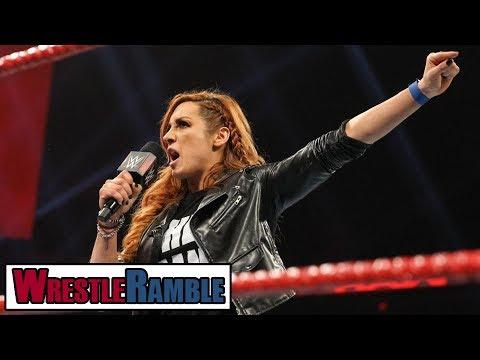 What Next For Becky Lynch?! WWE Raw, Feb. 11, 2019 Review | WrestleTalk's WrestleRamble