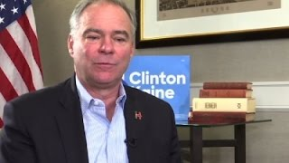 Kaine Eyes Healing, Working with GOP