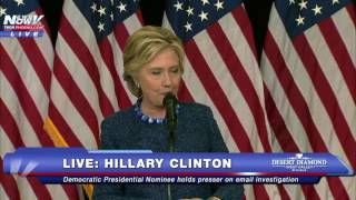 FULL: Hillary Clinton Press Conference on Email Investigation