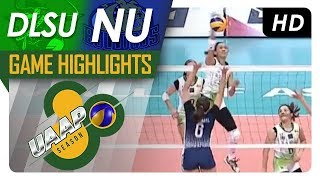UAAP 80 WV Final Four: DLSU vs. NU | Game Highlights | April 22, 2018