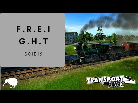Sick of Freight Yet? Transport Fever: USA Episode 16