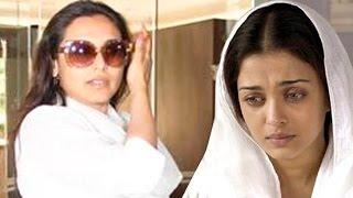 Rani Mukerji Visits Aishwarya Rai Bachchan Post Her Father's Sad Demise