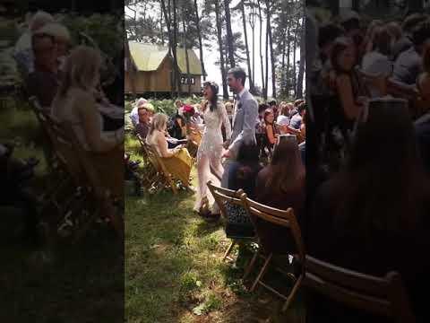 Summer Solstice Wedding at Happy Valley Norfolk