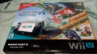 Mario Kart 8 WiiU 32GB Deluxe Edition Unboxing!