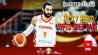 Ricky Rubio Highlight 19pts 5reb 9ast Spain vs Poland FIBA World Cup, Sep.10 2019