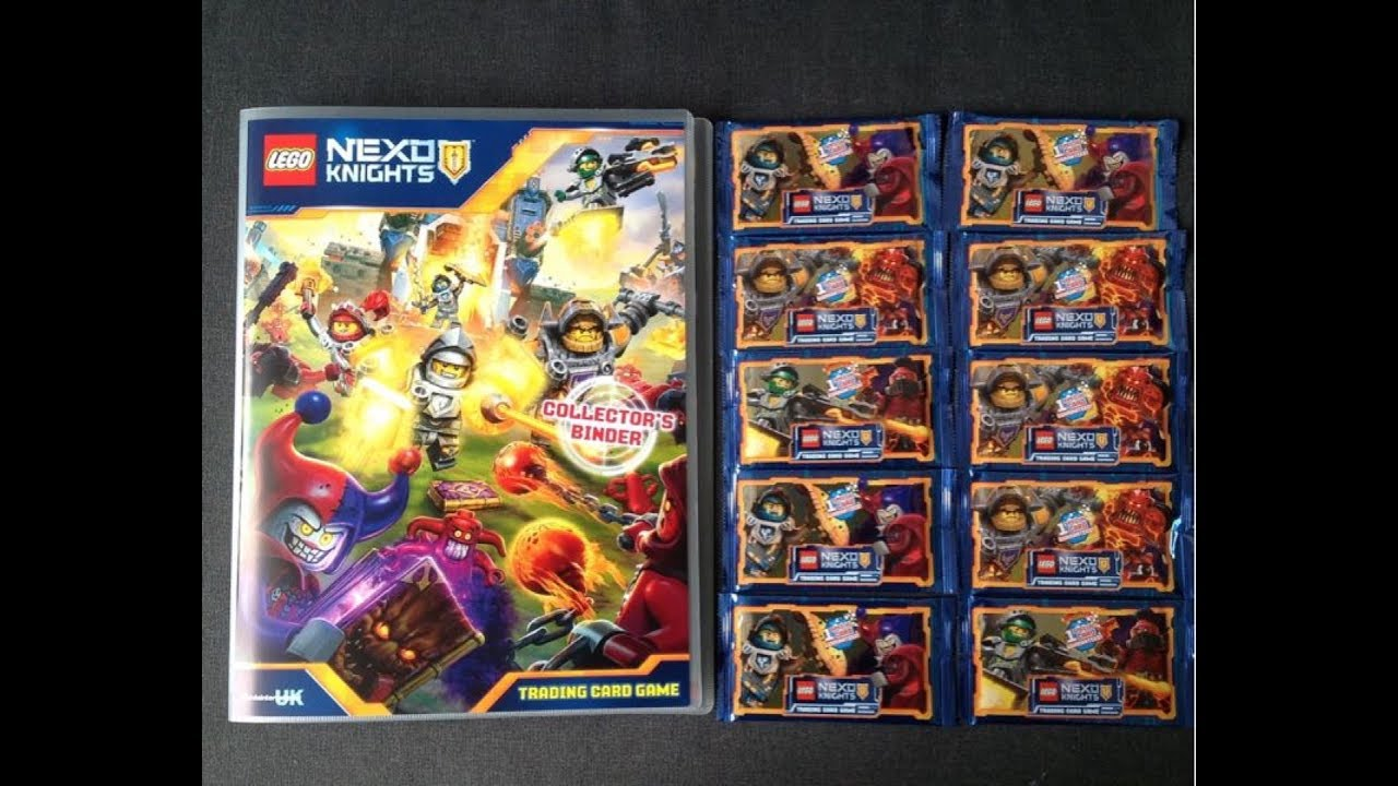 LEGO Nexo Knights Trading Cards 50 Sealed Packets