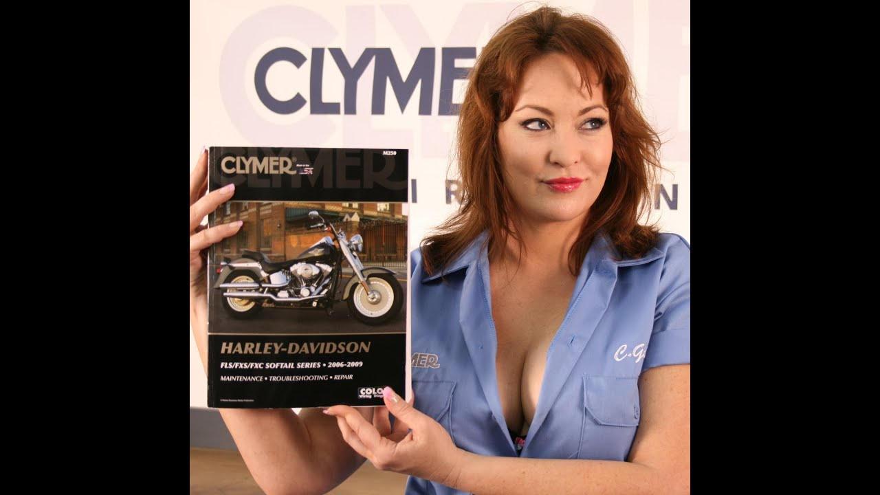 clymer manual video sneak peak for all 2006 10 harley. Black Bedroom Furniture Sets. Home Design Ideas