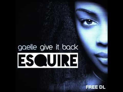 gaelle — give it back (bentley grey nu disco remix)