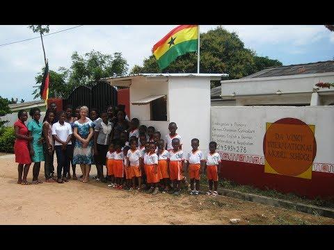 Da Vinci International School Accra, Ghana - Ein Rundgang mit Regina