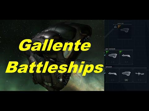 Exploring Gallente Battleships - EVE Online Live