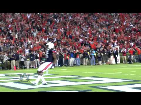 Auburn's Ricardo Louis Hauls in the Game-W...
