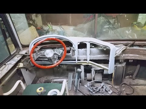 Bus Conversion Project - Video 57 - Interior Overview And A Little Dash Work