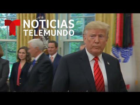 Donald Trump advierte que su destitución podría causar una guerra civil   Noticias Telemundo