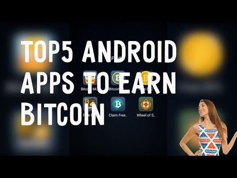 TOP 5 Android Apps To Earn Bitcoin | BTC Faucet App 2018