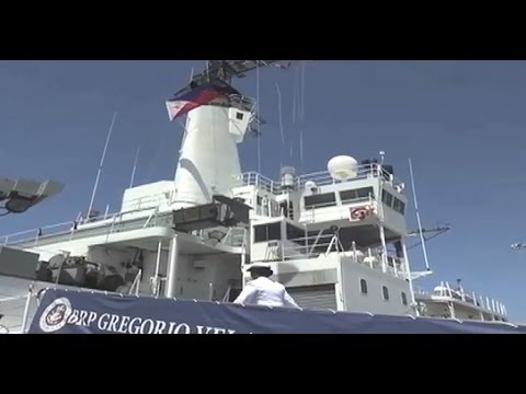 U.S. Navy Gives Philippines Research Vessel