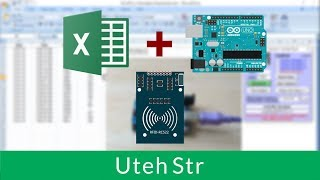 Arduino | Arduino to Excel Communication (PLX-DAQ) | Combination with RFID RC522