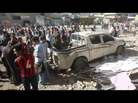 Iraq Violence: Blasts In Baghdad Kill Dozens