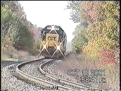 CSX B778 in Richland NY 10-10-2001