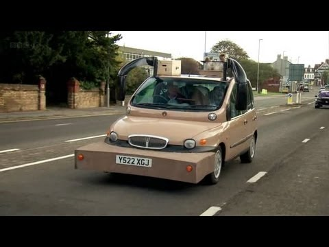 Top Gear The Rover James Fiat Multipla Youtube