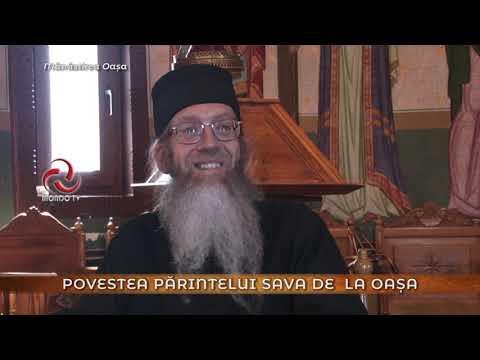 Americanul calugarit in Romania - Pr. SAVA de la Manastirea Oasa...