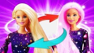 Барби собирается на свидание с Кеном - Меняем имидж. Игры в куклы - Мультики для детей