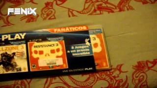 UNBOXING   Tri-PLAY   inFAMOUS 2, KILLZONE 3, RESISTANCE 3