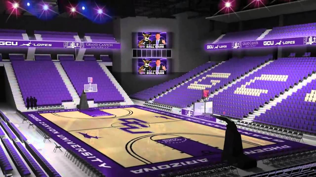 Grand Canyon University Arena Expansion - YouTube