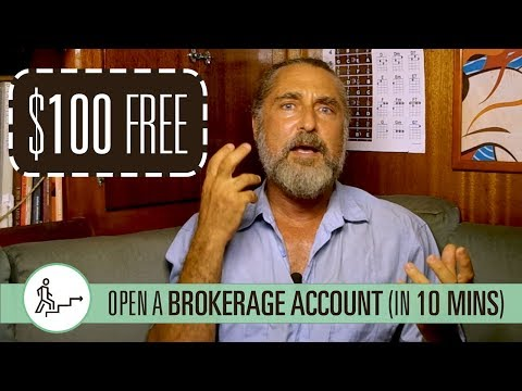 Pay Yourself First: (1 Of 3) Open A Brokerage Account, Get $100 [Enough Is Enough]