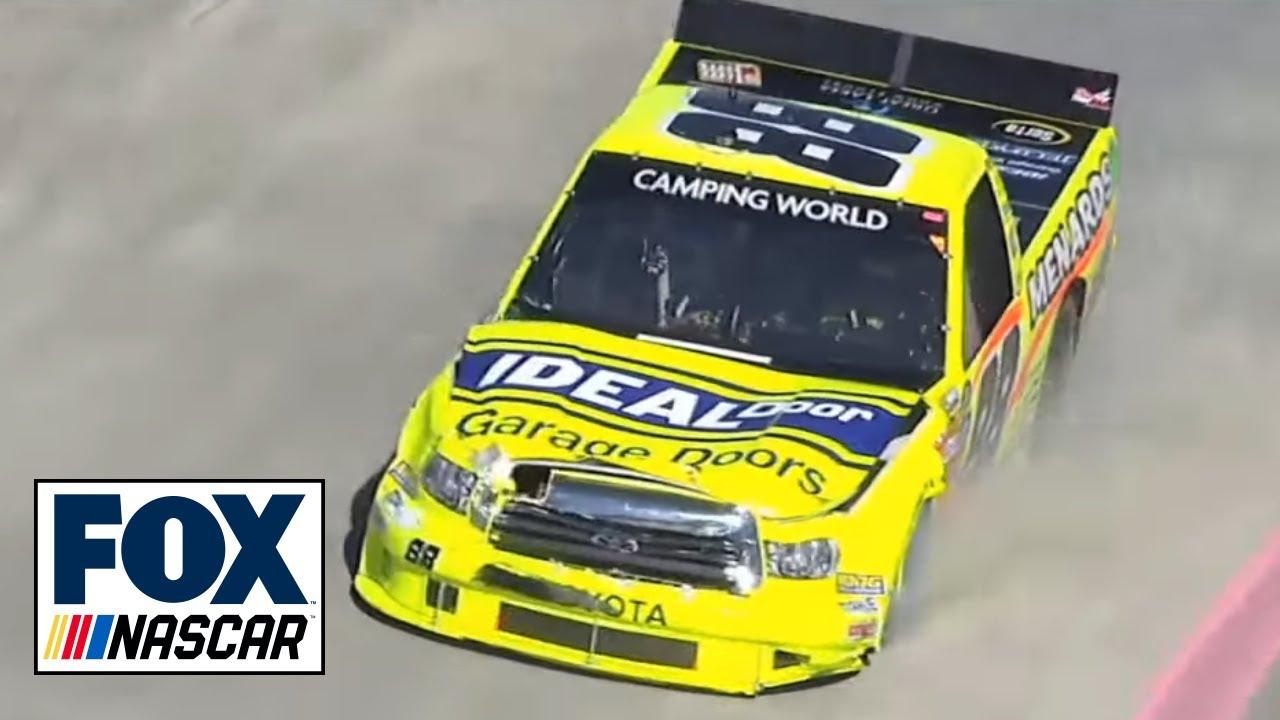 Ty Dillon Wrecks Kevin Harvick - NASCAR Camping World Trucks Martinsville  2013
