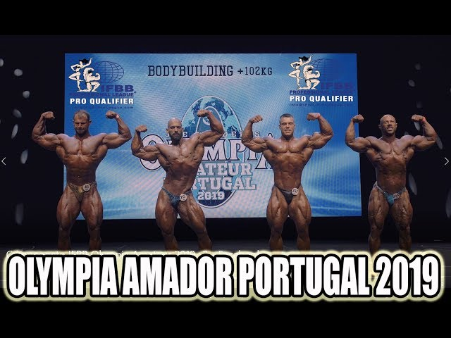 OLYMPIA AMATEUR PORTUGAL 2019