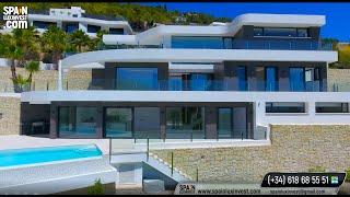 🔴1750000€/Премиум/Люкс/Вилла в Испании/Элитная недвижимость/Новый дом Хай-тек в Бениссе/Коста Бланка
