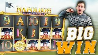 BIG WIN on Napoleon Slot - £10 Bet!