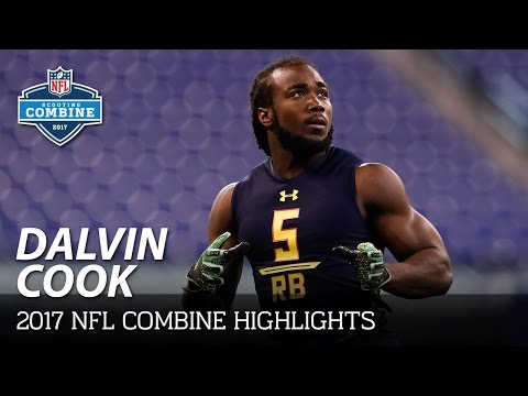 Dalvin Cook (Florida State, RB) | 2017 NFL Combine Highlights