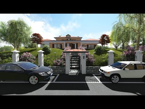 Lumion 5.0 - Project Villa 3D, Archicad - interior design - Animation 3D - Architectura 3D (Lumion