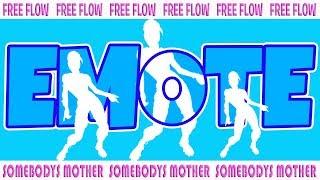 FEEL THE FLOW 🕺 Fortnite FREE FLOW Dance 🕺 Fortnite Season 7 level 95 Battle Pass 💃 Emote