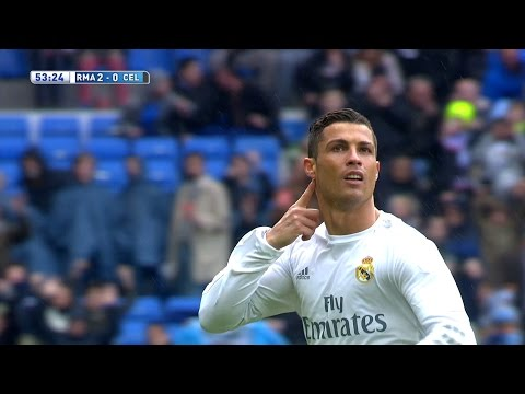 Cristiano Ronaldo vs Celta Vigo (Home) 15-16 HD 1080i (05/03/2016) - English Commentary