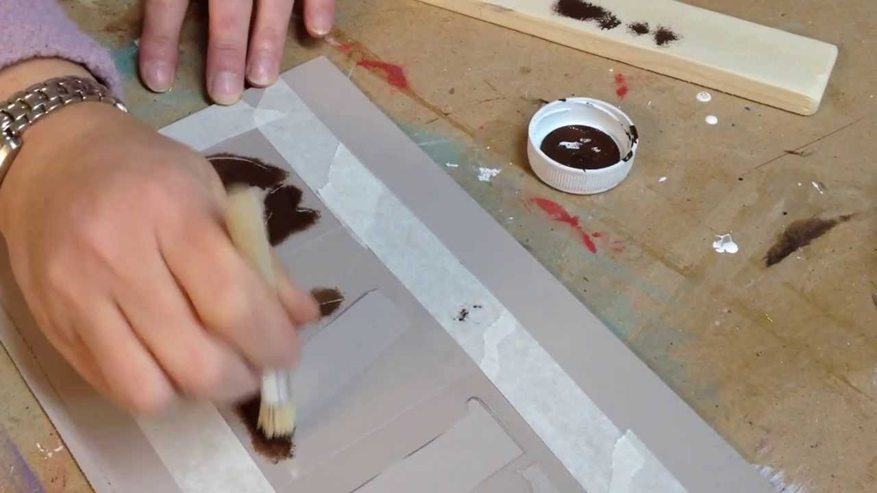 Como pintar con plantillas de letras youtube - Plantillas para pintar ...