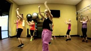 Hit the Floor - Twista ft. Pitbull and other clips from AF Ghent Zumba with Mallory HotMess