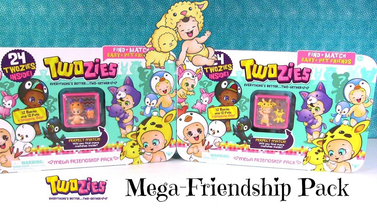 5637d6bed1fdd Twozies Mega Friendship Packs Unboxing Blind Bag Fun Opening | PSToyReviews