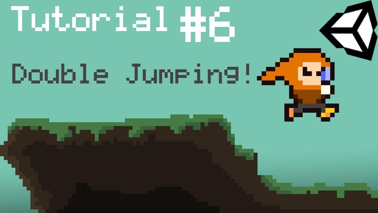 Unity 5 2D Platformer Tutorial - Part 6 - Double Jumping!