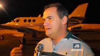 Realizado o primeiro voo noturno autorizado a partir do Aeroporto de Guaxupé