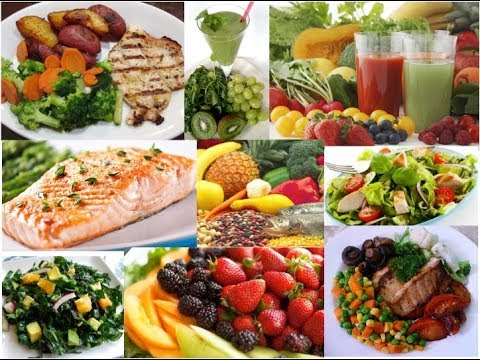 Fish, Fruit And Vegetable Diet